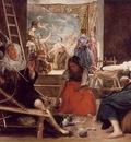 Velazquez Las Hilanderas The Spinners c 1657, Prado
