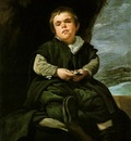 Velazquez The Dwarf Francisco Lezcano
