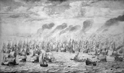 Velde I van de Willem Sea battle at Terheide Sun