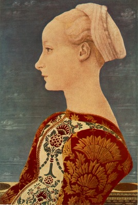 Domenico Veneziano Portrait of a young woman, Berlin