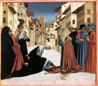 St Zenobius Performs a Miracle WGA