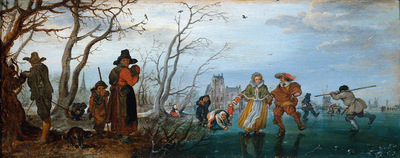 Venne van de Adriaen The four seasons Sun