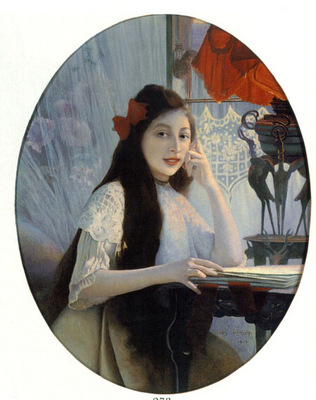 A Portrait of Young Girl