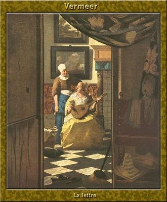 PO Vp S1 63 Vermeer La lettre
