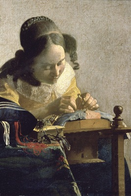 the lacemaker, jan vermeer 1600x1200 id