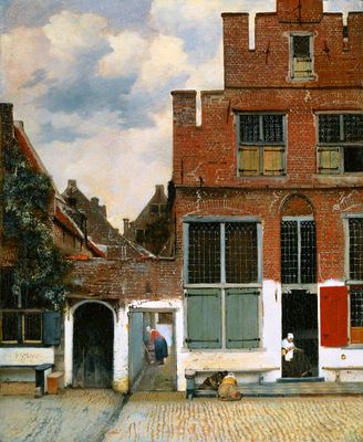 Vermeer Johannes The street Sun