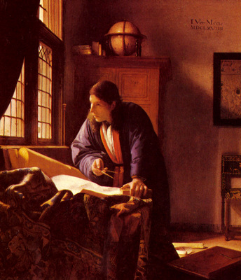 Vermeer The Geographer
