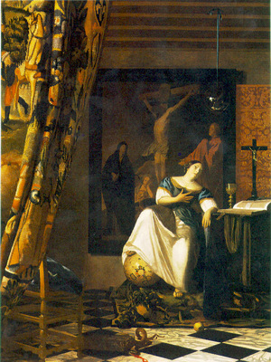 Vermeer The allegory of faith, 1671 74, 113x88 cm, Metropoli