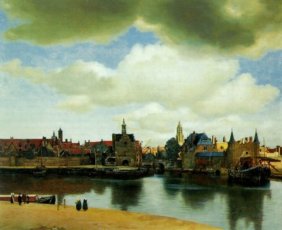Vermeer View of Delft, Royal Cabinet of Paintings Mauritshui