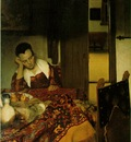 Vermeer A woman asleep, ca 1657, 87,6x76,5 cm, Metropolitan