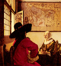 Vermeer Officer And Laughing Girl