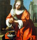 Vermeer Saint Praxidis, 1655, 102x83 cm, Private