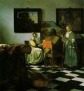 Vermeer The concert, ca 1665 1666, 72 5x64 7 cm, Isabella St