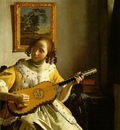 Vermeer The guitar player, ca 1672, 53x46 3 cm, Kenwood, Eng