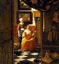 Vermeer The letter, 1669 70, 44x38 cm, Rijksmuseum Amsterdam