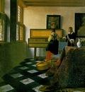 Vermeer The music lesson, ca 1662 1665, 74 6x64 1 cm, Royal