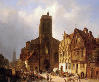 The Market Square In Brunswick