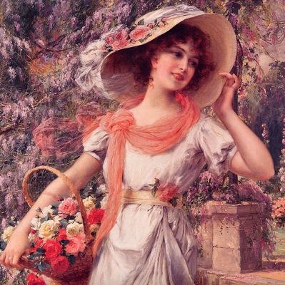 Vernon, Emile The Flower Girl end