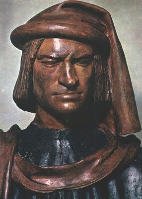 Verrocchio Lorenzo de Medici