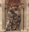 Verrocchio Christ and Doubting Thomas
