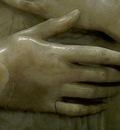 Verrocchio Portrait of a Woman detail1