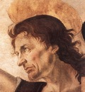 Verrocchio The Baptism of Christ detail2