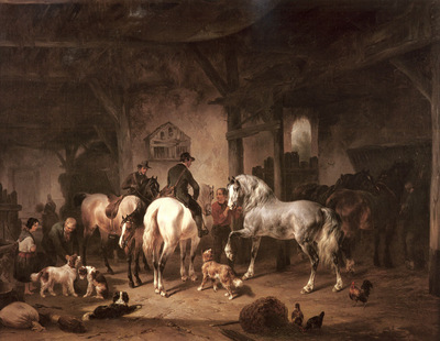 Verschuur Wouterus Preparing For The Hunt