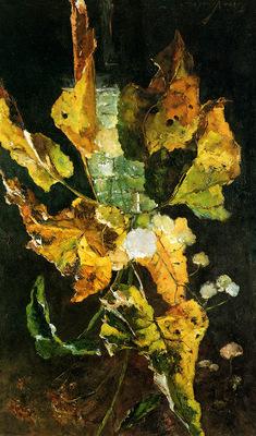 Verster Floris Flowers and leaves Sun