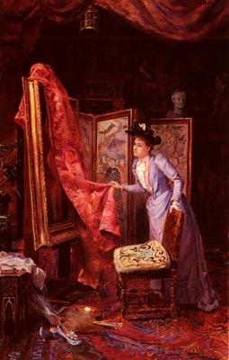 Vianelli Achille IL Studio Da Pittura