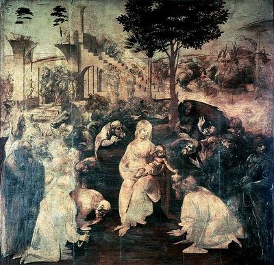 Leonardo Adoration of the Magi