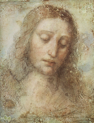 leonardo da vinci head of christ c1494