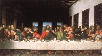 Leonardo da Vinci Last Supper copy