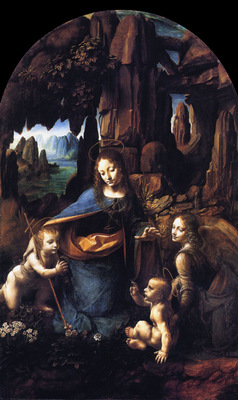 leonardo da vinci madonna of the rocks