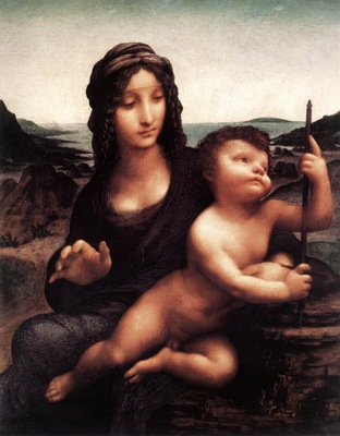 Leonardo da Vinci Madonna with the Yarnwinder c1501