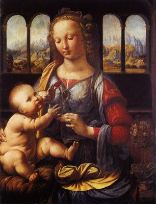 Leonardo da Vinci Madonna with