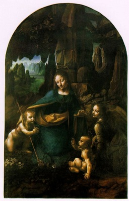 Leonardo da Vinci The Virgin of the Rocks [1503 1506]