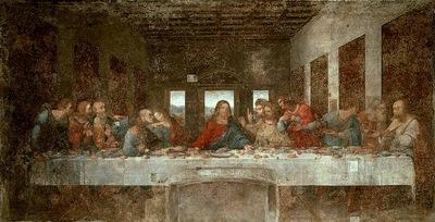 Ultima Cena 1495 97 Refettorio di Santa Maria delle Grazie Milano