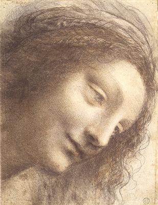 cabeza de la virgen