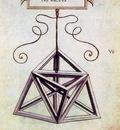 Geometric Figure Tetracendron elevatus vacuus