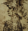 Head of a Condottiere