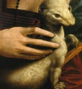 Lady with an Ermine Ermine Detail