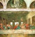 Leonardo The last supper, 1498, 460x880 cm, Convent of Santa
