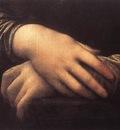 Leonardo da Vinci Mona Lisa detail2