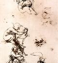 Leonardo da Vinci Study of a child with a cat facsimile