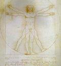 Leonardo da Vinci The Proportions of the Human Figur