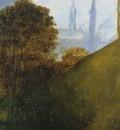 Portrait of Ginevra Benci Landscape Detail