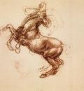 rearing horse 1483