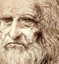 Self Portrait in Old Age, Leonardo da Vinci, 1512 1600x120