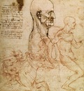 sketches for the battle of anghiari 1504