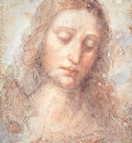 Study for the head of Christ for The Last Supper